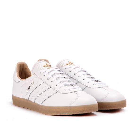 Adidas Gazelle Leather Premium Sneakers Size 7.5